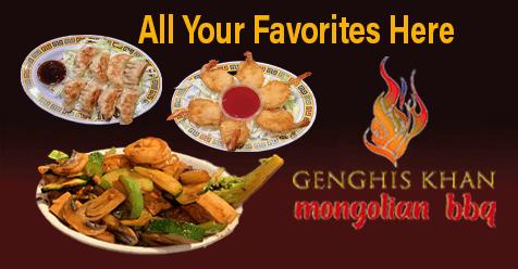 Chinese Food   Mongolian BBQ   Genghis Khan Mongolian Restaurant