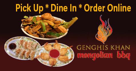 Pick Up * Dine In * Order Online