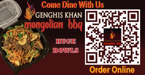 Asian Fusion delivery in Santa Clarita | Genghis Khan Mongolian Restaurant