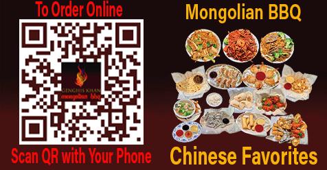 Mongolian BBQ & Chinese Favorites | Genghis Khan Santa Clarita