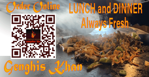 Dine In – Patio – Take Out – Delivery | Genghis Khan Mongolian Restaurant