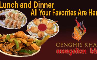 All Your Favorites   Genghis Khan Mongolian Restaurant