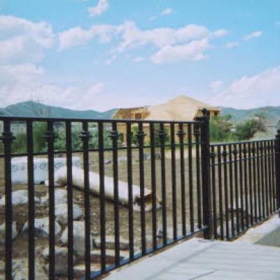 balcony metal fence fabrication