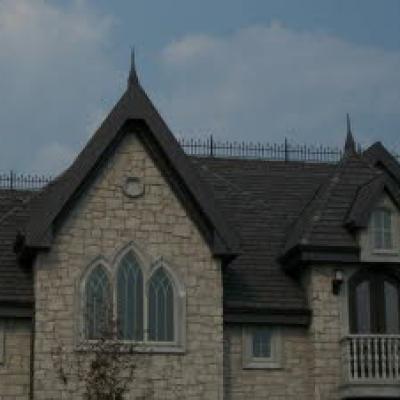 custom roof railing
