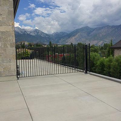 metal fence fabrication