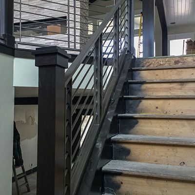 interior metal railing