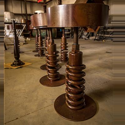 custom metal barstools