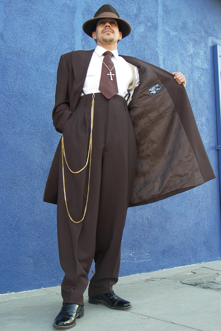 Chocolate Brown Zoot Suit 2