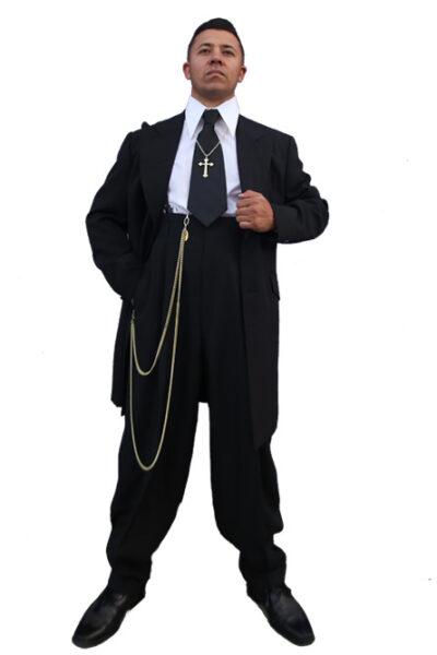 Classic Black Zoot Suit