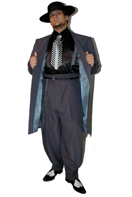 Charcoal Grey Zoot Suit