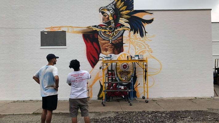 Pilsen Tortilla Shop's Mural Disappears. But Don't Worry, Owner Says, An Even Better One Is Coming