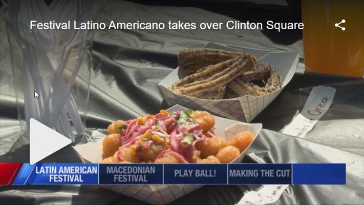 Festival Latino Americano takes over Clinton Square