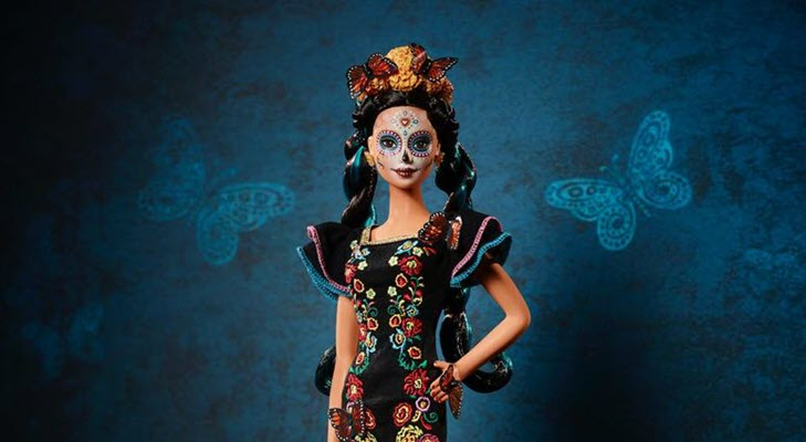 'Day of the Dead' Barbie Is Here