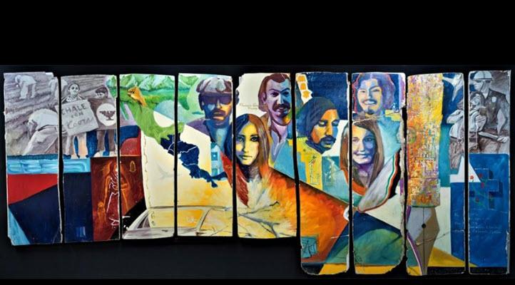 'Boulder' mural on display at PCC