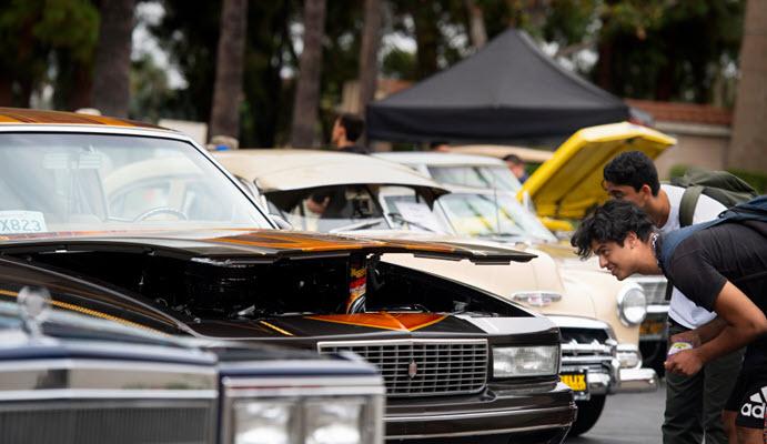 Lowrider car show rolls onto Riverside City College