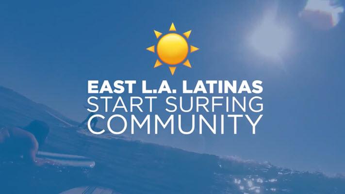 East LA Latinas create surfing community for Latinos