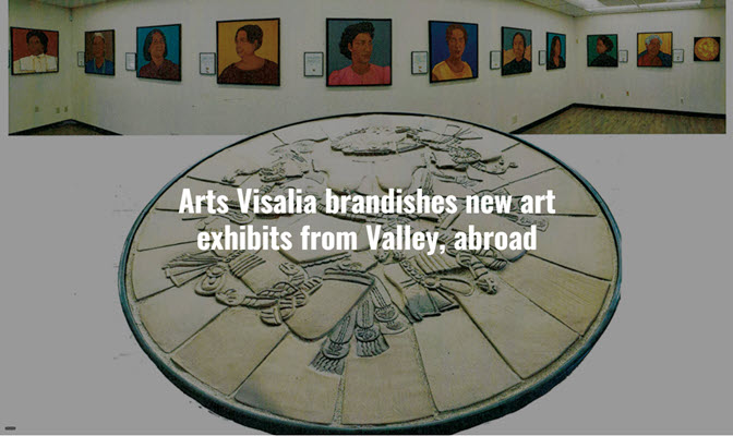 Arts Visalia brandishes new art exhibits from Valley, abroad
