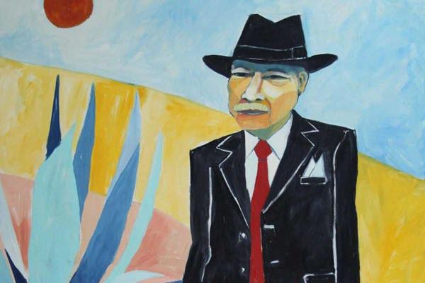 Cruz Ortiz portrait of Tomás Ybarra-Frausto added to the National Portrait Gallery