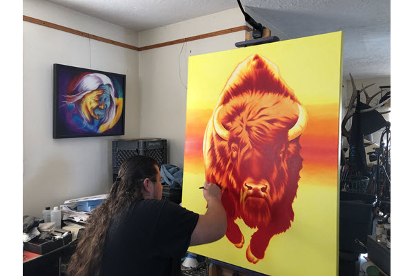Robert Martinez, Visual Artist, Joins Several Natives Honored With The Governor's Arts Award