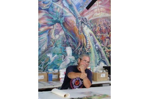 Muralist Wayne Healy to Take Part in Art and Sustainability Virtual Discussion