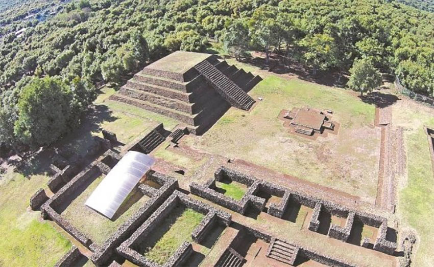 Drones aid exploration of buried, pre-Hispanic settlements in Michoacán