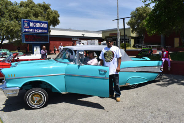 Lowriders create memorable moment for Richmond High's Class of 2020