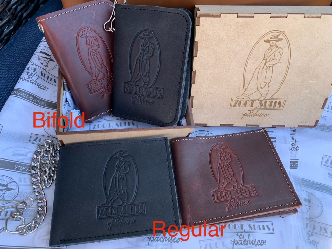 Pachuco Leather Wallet