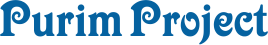 Purim Project Logo Fundraiser Solution