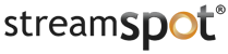 StreamSpot Logo Live Streaming Service