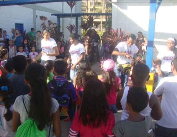 90 niños  participan en  el Plan Vacacional del Poder Judicial