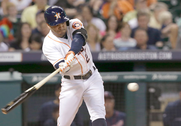 Altuve comandó a los Astros con grand slam