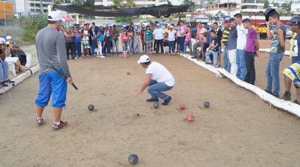 Juegos Tradicionales animan la Fetvar 2014
