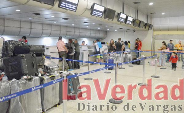 Demoras en vuelos nacionales generan pérdidas de conexiones al exterior