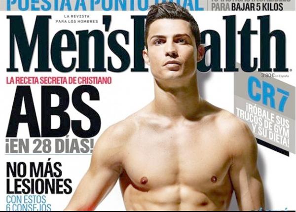 "Cristiano Ronaldo protagoniza la nueva portada de ""Men's Health"""