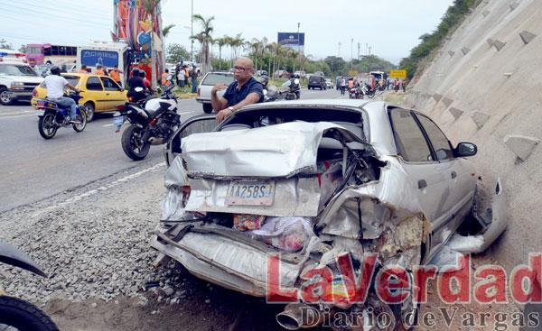 16 heridos deja accidente de tránsito en El Trébol
