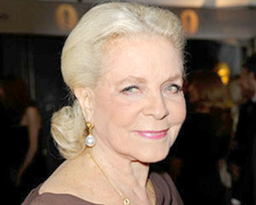 Fallece Lauren Bacall, actriz del Hollywood dorado