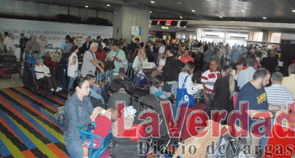 Santa Bárbara deja varados a 850 pasajeros con destino a Miami