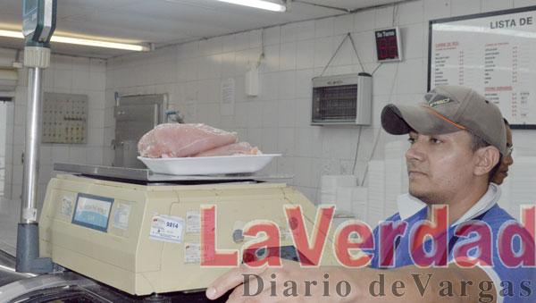 Sin carne roja supermercados de El Caribe