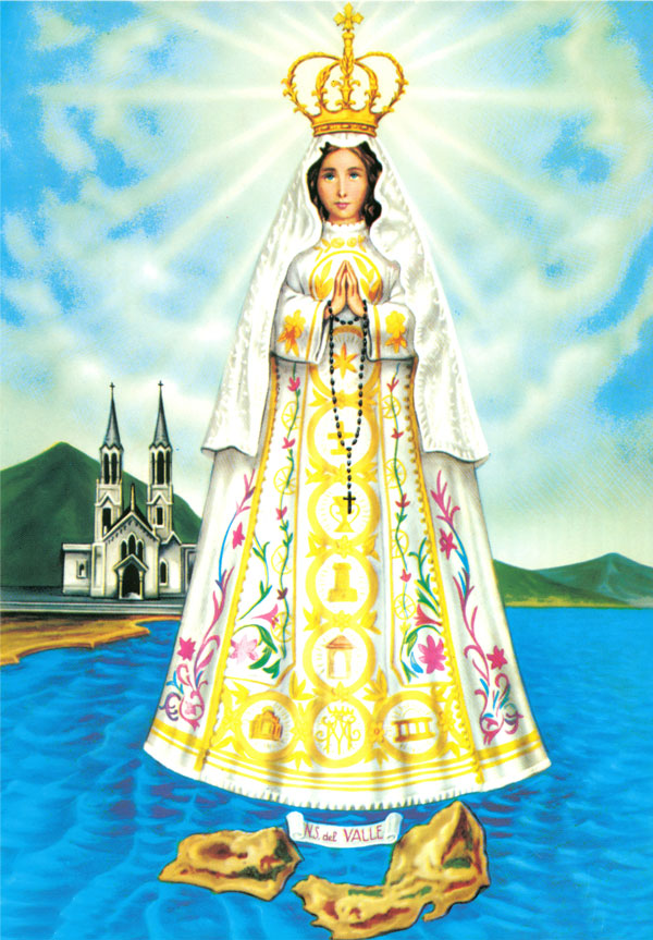 Invitan a celebración de la Virgen del Valle en Sorocaima