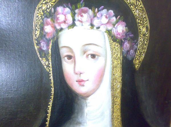 Virgen»Rosa de Santa María»Patrona deAmérica,Perú, las Filipinas, Caruao y todasana