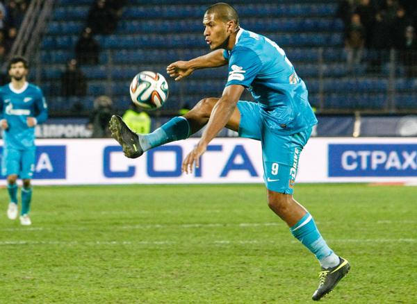 """El Zenit de """"Salo"""" doblegó al Standard en la Champions"""