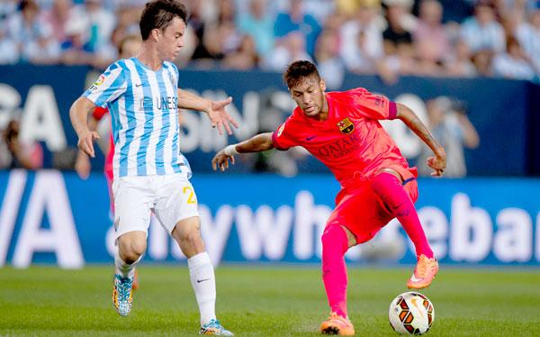 Barcelona no pudo con el Málaga