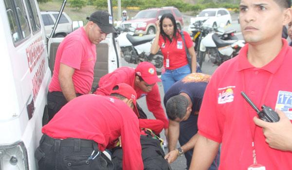 Seis heridos deja Choque de ambulancia con otro vehículo