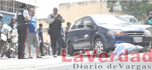 Matan a sindicalista frente a su casa en Maiquetía