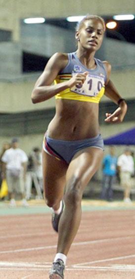 Andrea Púrica es la más rápida de Suramérica