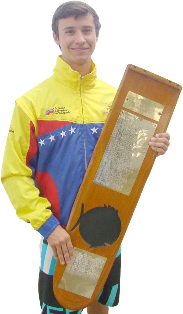 David González se tituló Campeón Mundial  de Sunfish