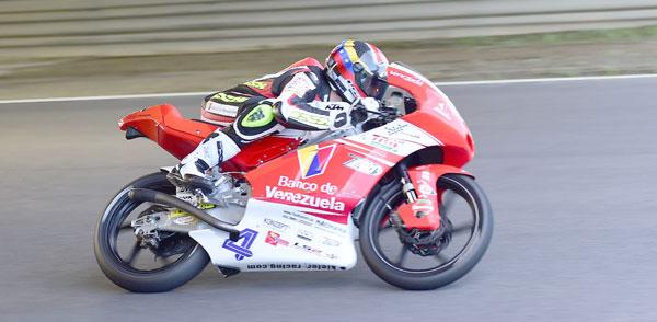 Ramos culminó vigésimo segundo en válida Mundial Moto3