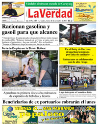 La Guaira, viernes 21 de noviembre de 2014 Año 18 No. 5487