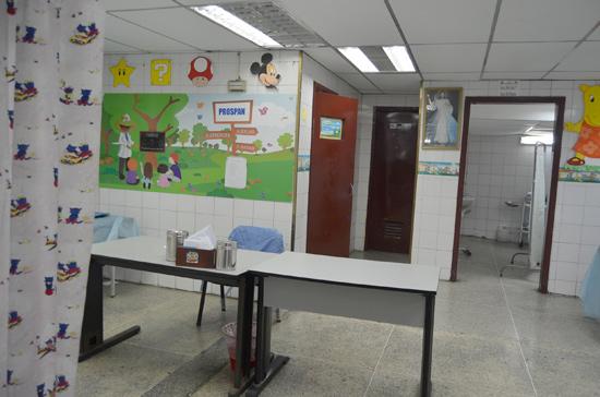 Sin pediatra ni mascarillas  para nebulizar emergencia del Hospitalito