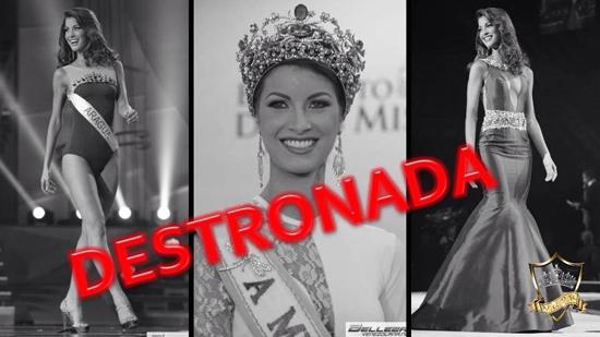 Stephanie de Zorzi no irá al Miss Tierra
